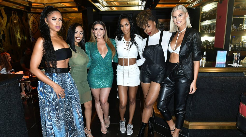 """Special Look: """"WAGS Miami"""" Cast Members Attend Mixer Ahead ..."""