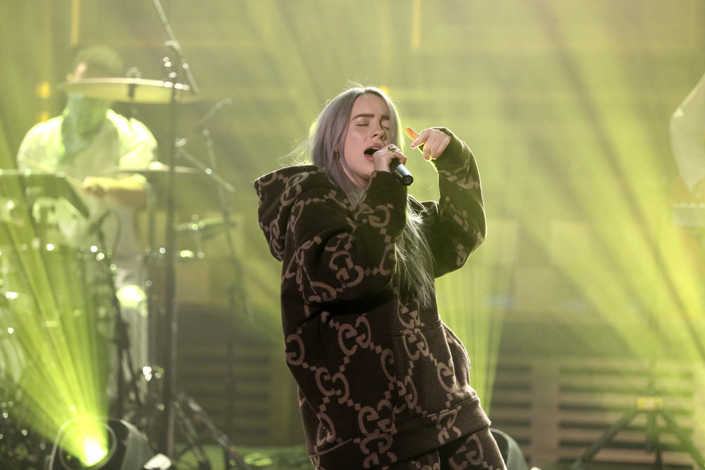 """Billie Eilish Performs On """"The Tonight Show Starring Jimmy ..."""