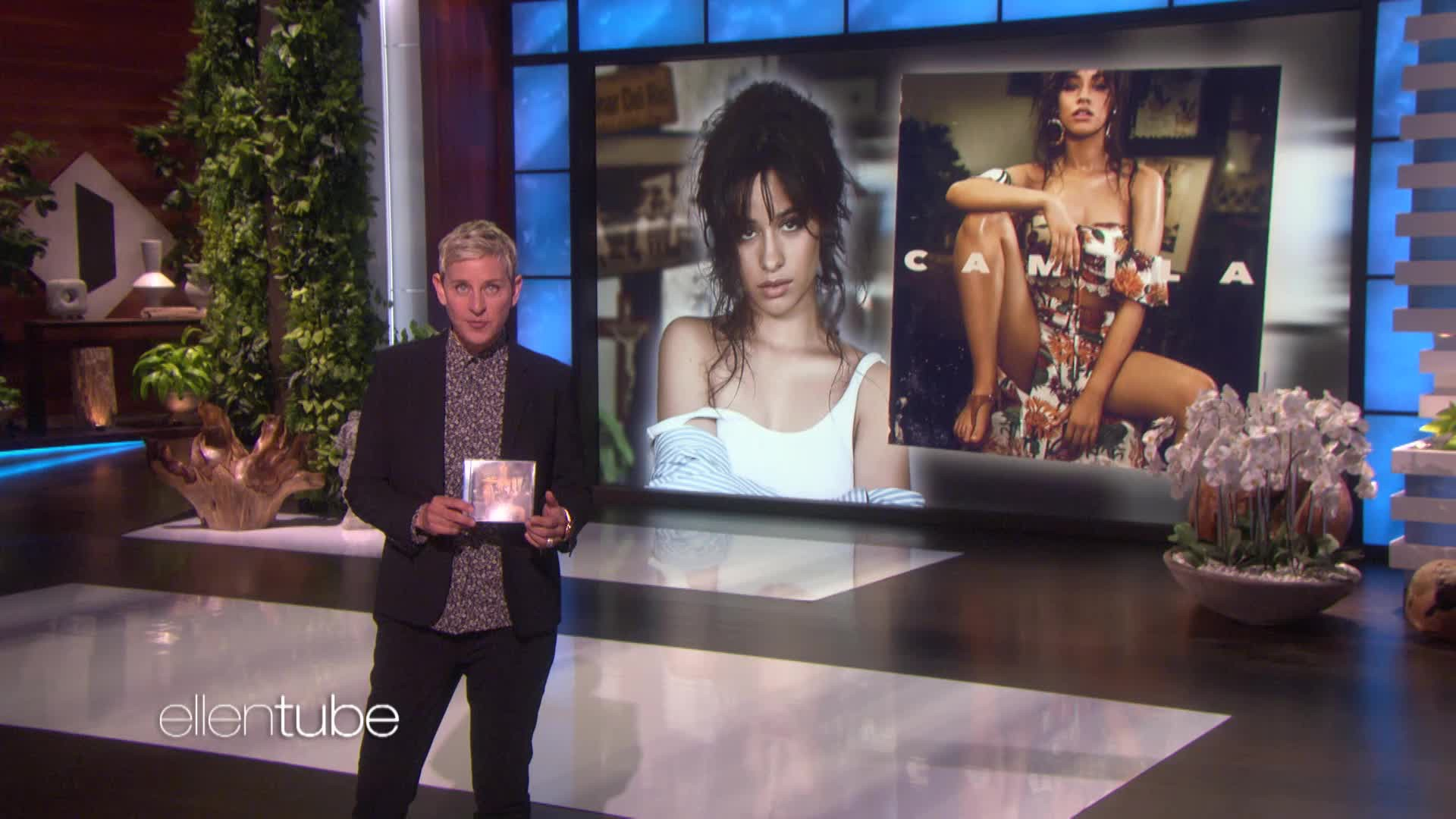 Camila Cabello Performs Never Be The Same On Ellen DeGeneres Show Watch Now
