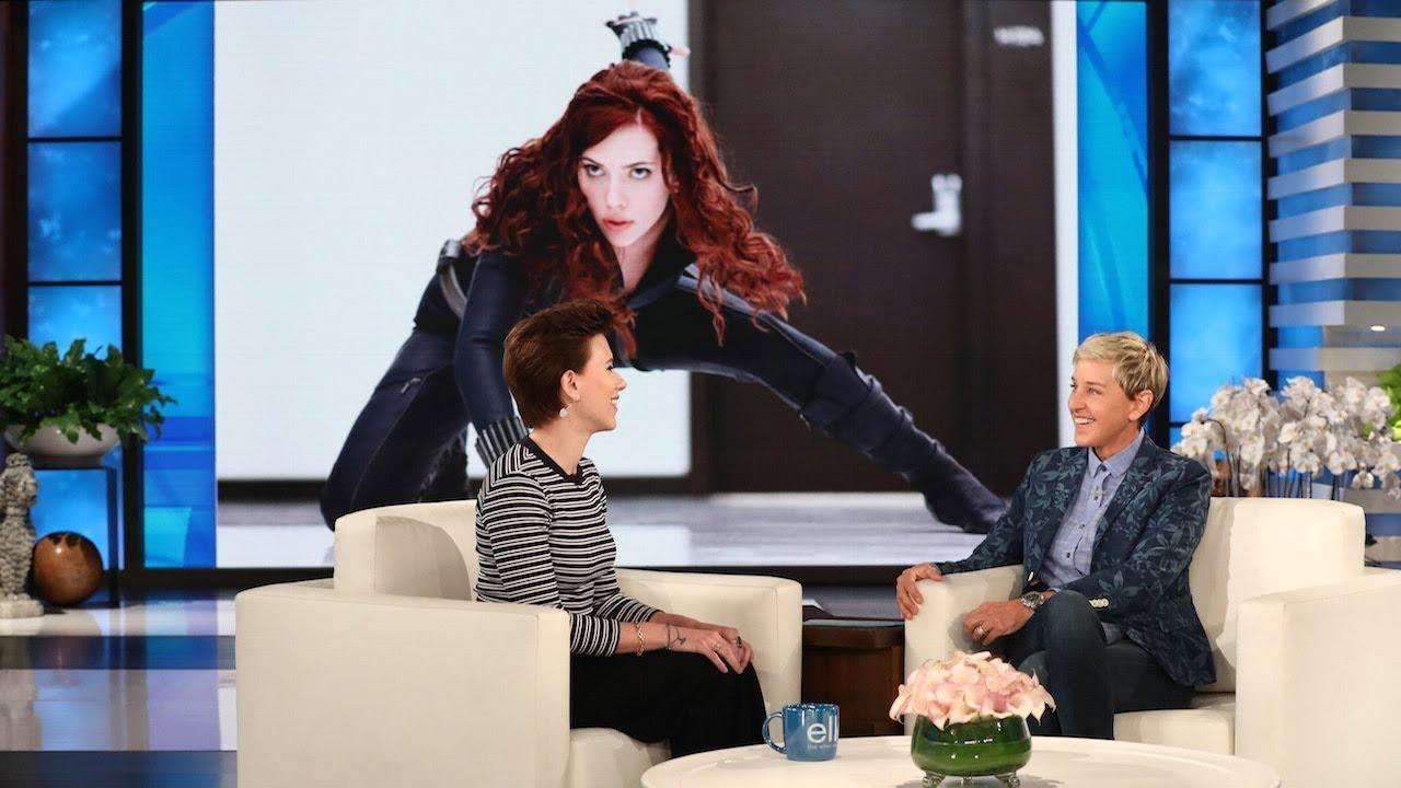 Scarlett Johansson Appears On Tuesday S Quot Ellen Degeneres