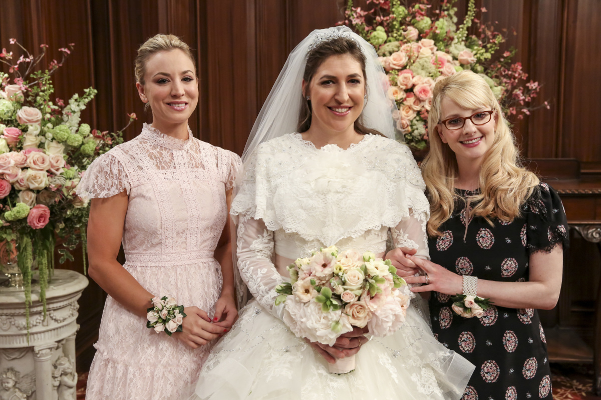 Sheldon And Amy Wedding.Sheldon Amy Got Married In Big Bang Theory Season Finale Cbs