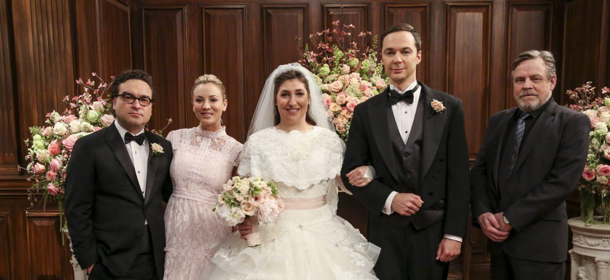Ratings Quot The Big Bang Theory Quot Rises For Wedding Season