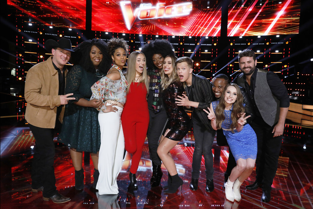 Christiana Danielle Receives Quot The Voice Quot Instant Save