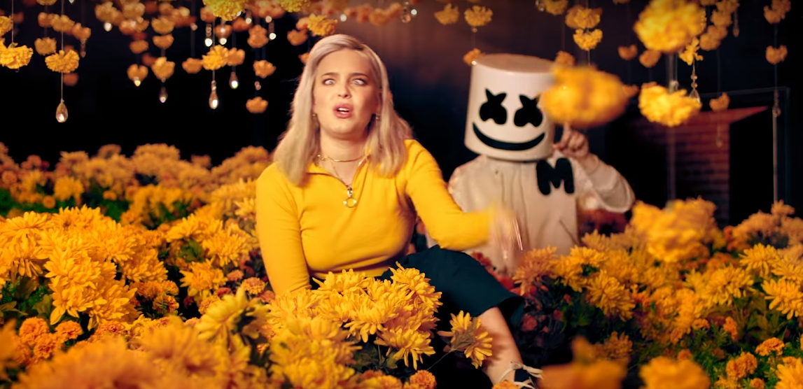 """Marshmello & Anne-Marie's """"FRIENDS"""" Enters Top 5 At Pop Radio"""