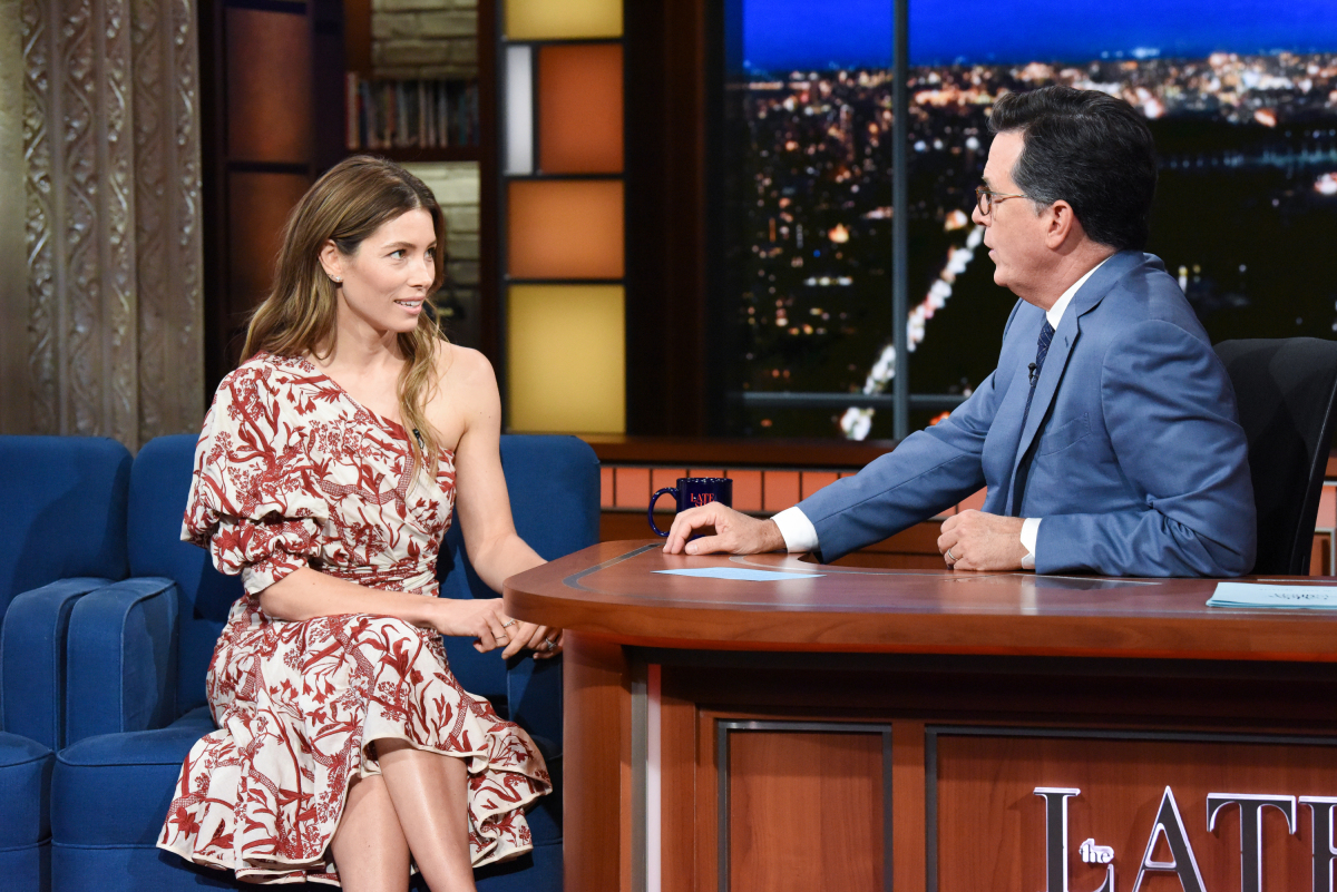 "Jessica Biel, W. Kamau Bell, Elle King Appear On ""The Late ..."