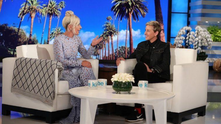 Lady gaga appears answers burning questions on ellen degeneres show - Ellen show address ...