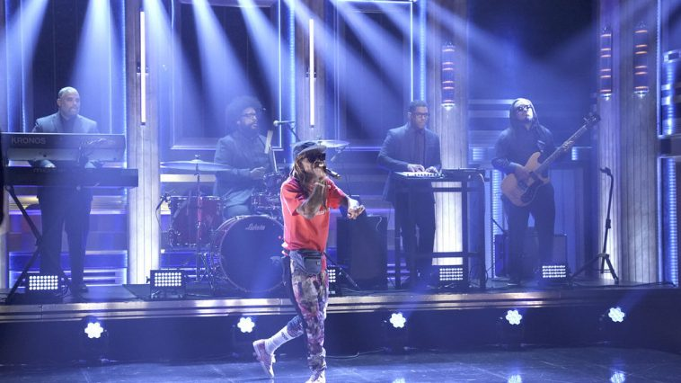 Lil Wayne on Jimmy Fallon