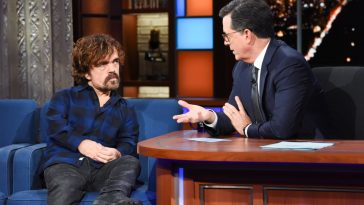 Peter Dinklage on Colbert