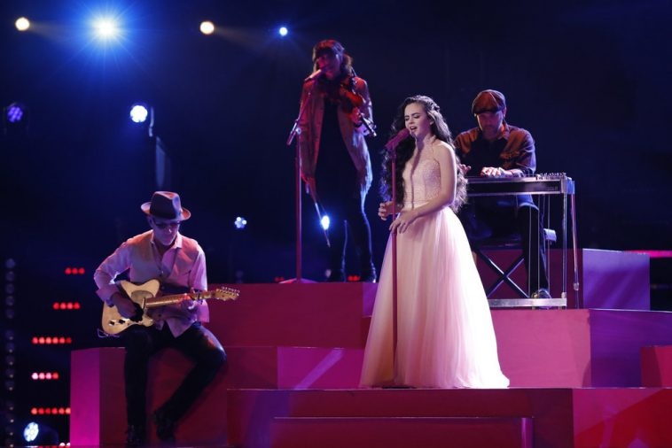 The Voice's Chevel Shepherd Earns #1 On US iTunes Chart