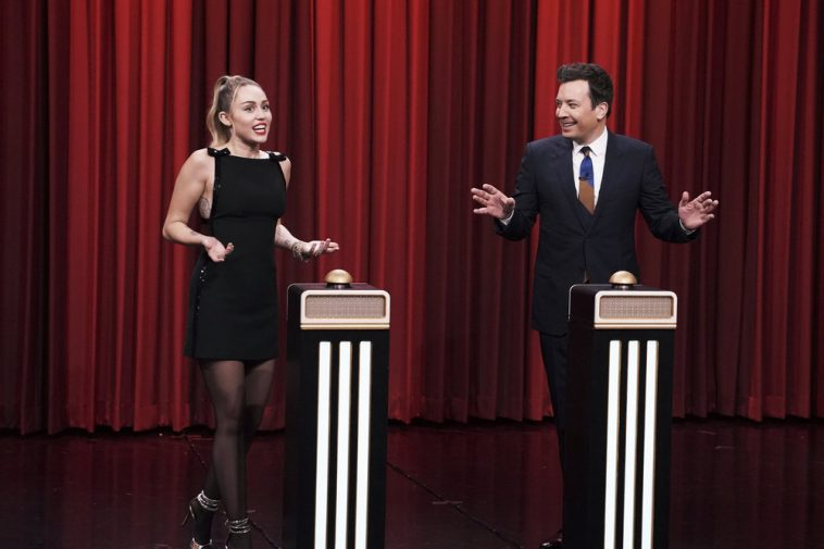 Miley Cyrus Can't Recognize Her Own Song In 'Tonight Show' Challenge