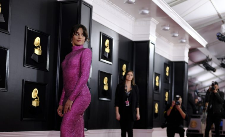 camila cabello maren morris kacey musgraves spotted on grammy awards red carpet camila cabello maren morris kacey