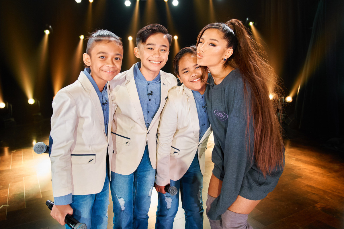 We're feeling all the feels after Ariana Grande surprised the TNT Boys