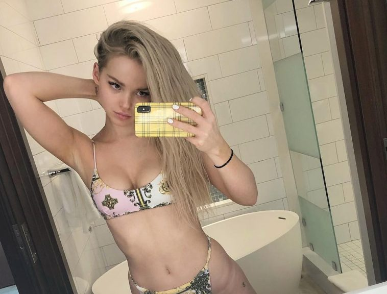 Dove Cameron posts bikini selfies on Instagram