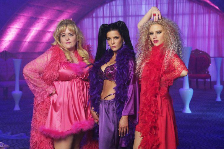 Halsey - Valentine's lingerie sketch on SNL