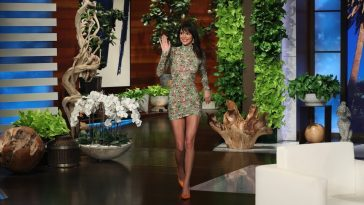 Kendall Jenner appears on Ellen