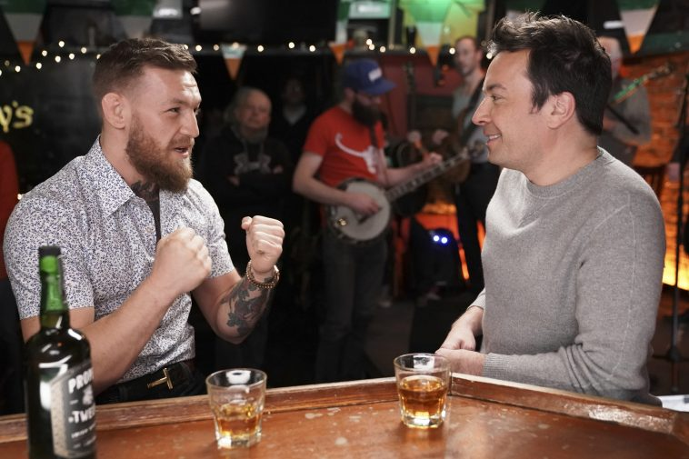 """Conor McGregor Appears On """"The Tonight Show Starring Jimmy ..."""