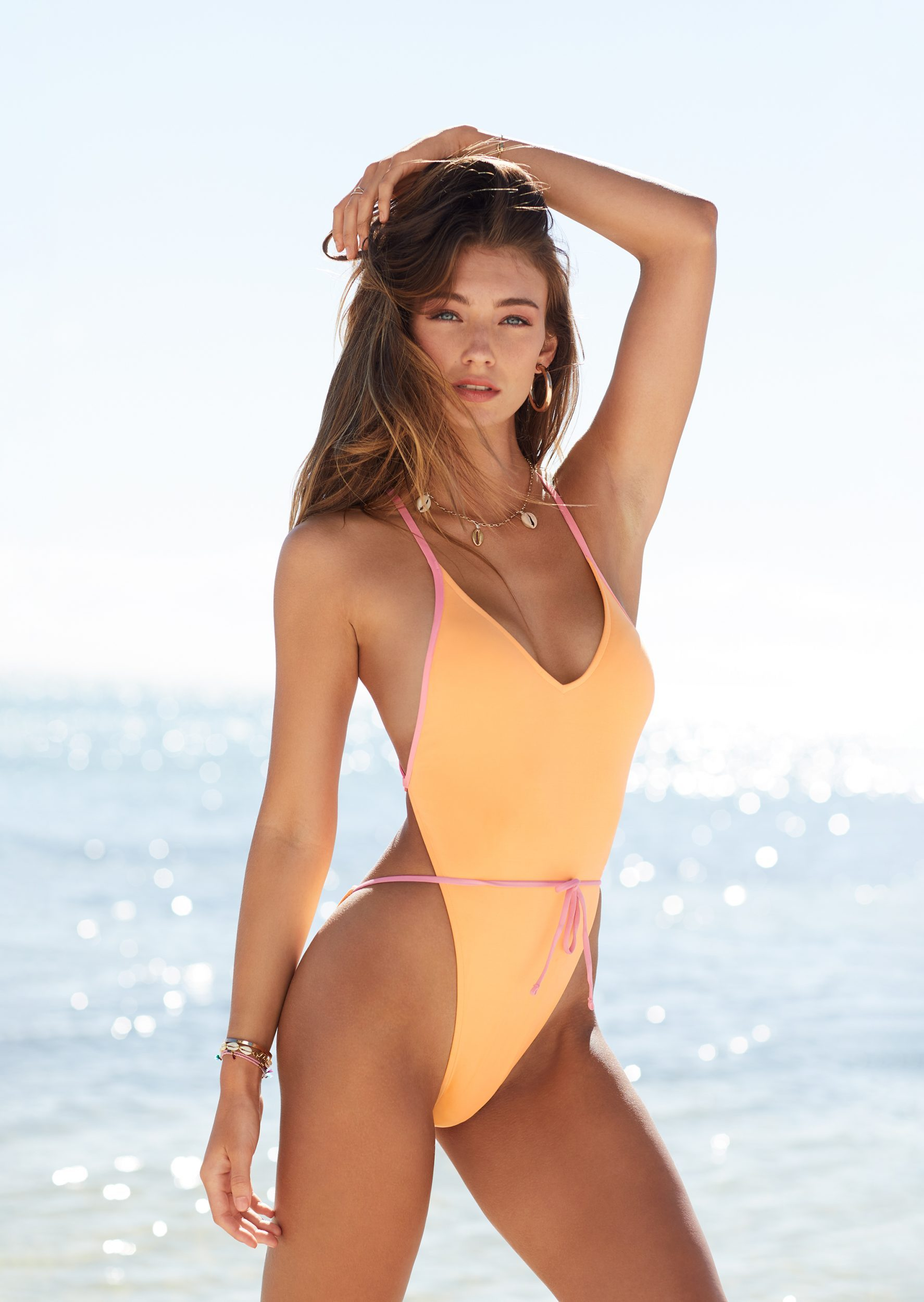 54e78b7c02f Barbara Palvin, Lorena Rae, More Look Incredible In Victoria's Secret Swim  2019 Promo Photos
