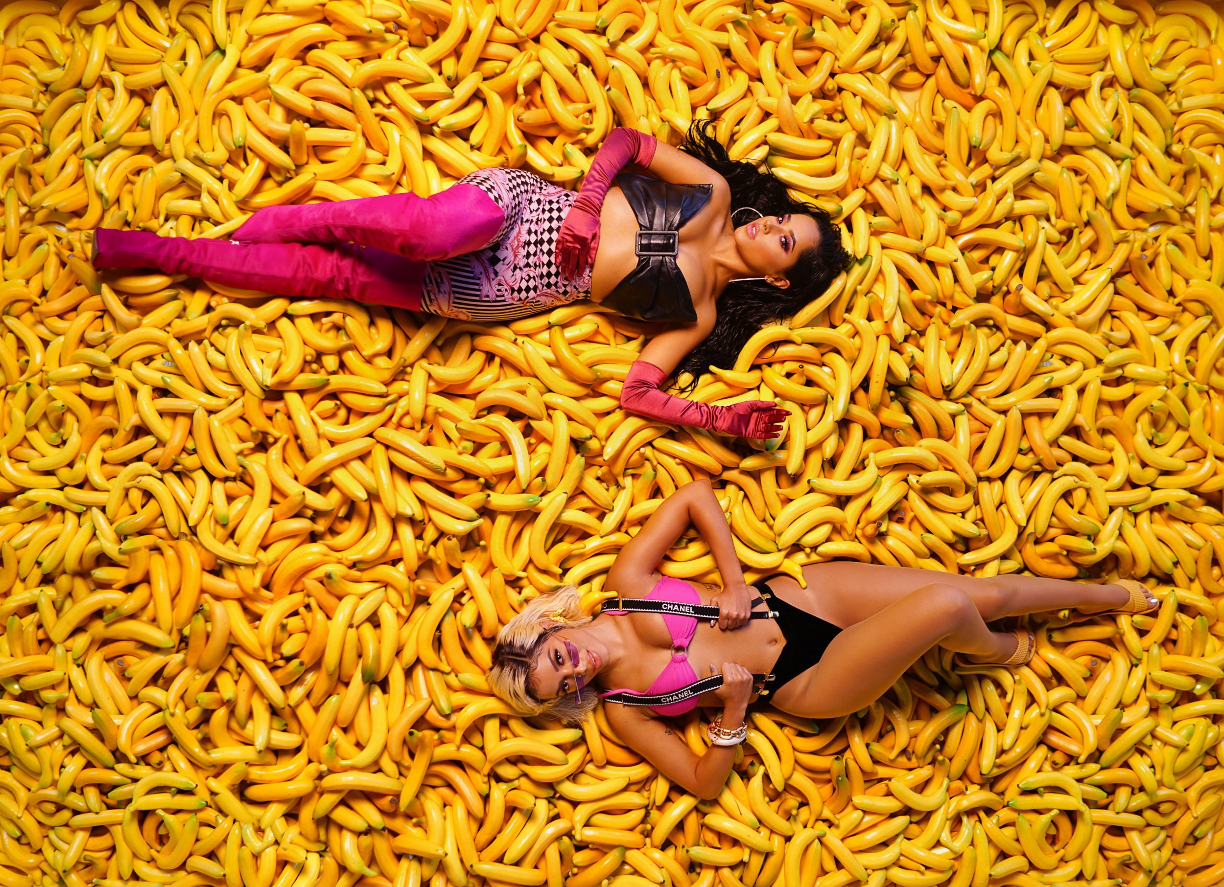 Anitta, Becky G Appear In Behind The Scenes Pictures From -7510