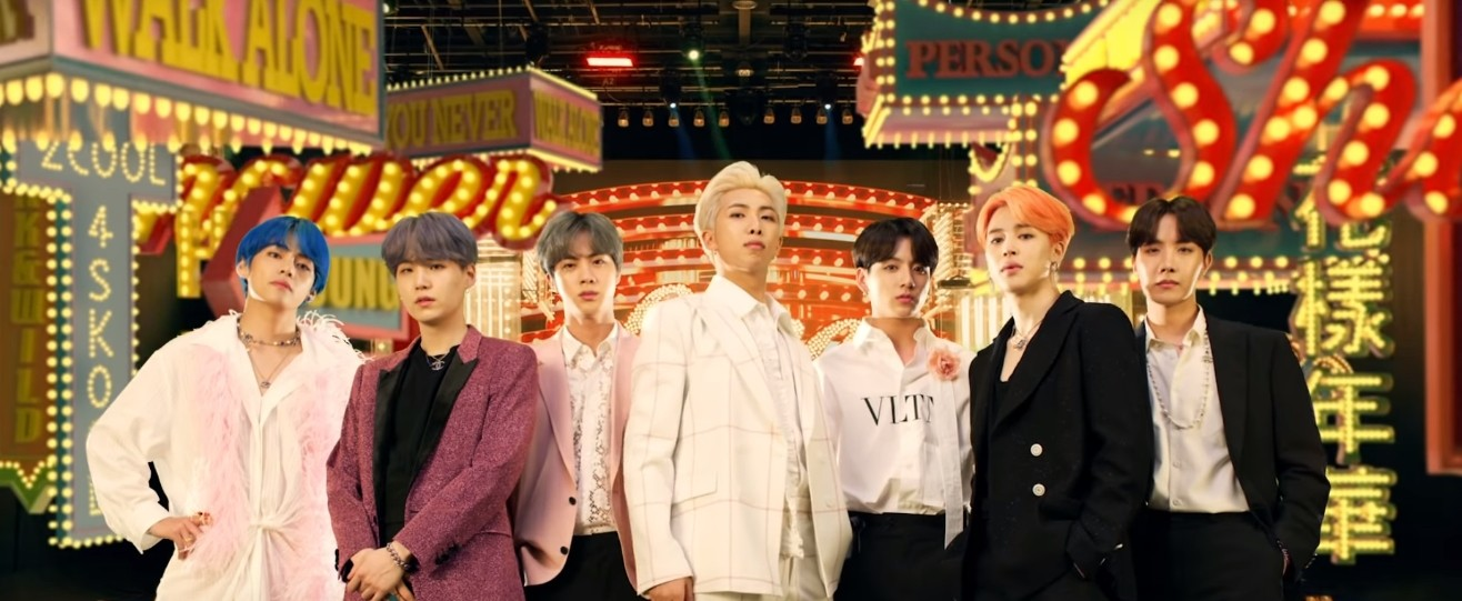 """BTS & Halsey's """"Boy With Luv"""" Takes #4 On Global & US ..."""