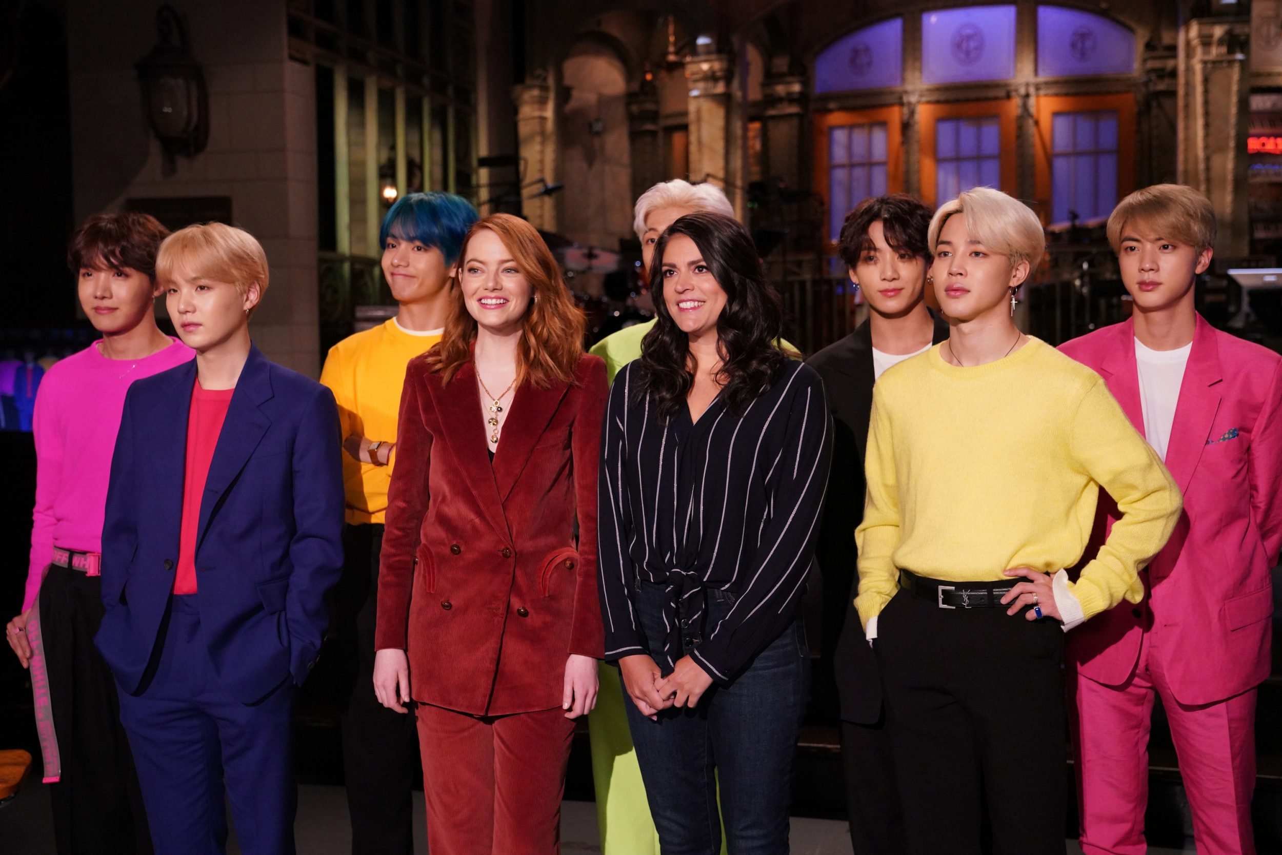 BTS Performs 'Boy with Luv' & 'Mic Drop' on SNL