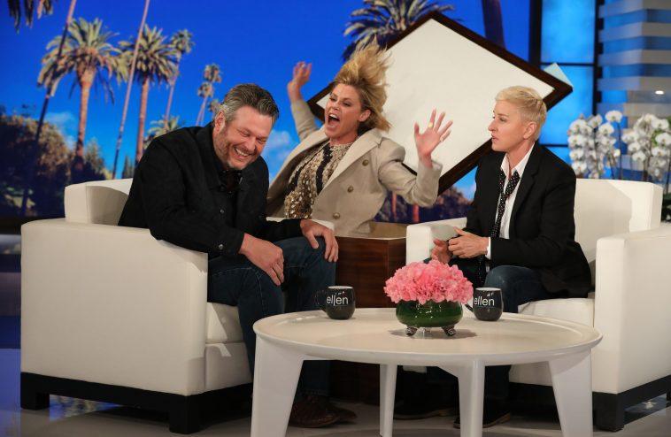 Ellen DeGeneres Gifts Blake Shelton A Pre-Engagement Gift