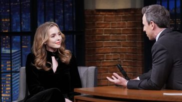 Jodie Comer on Seth Meyers