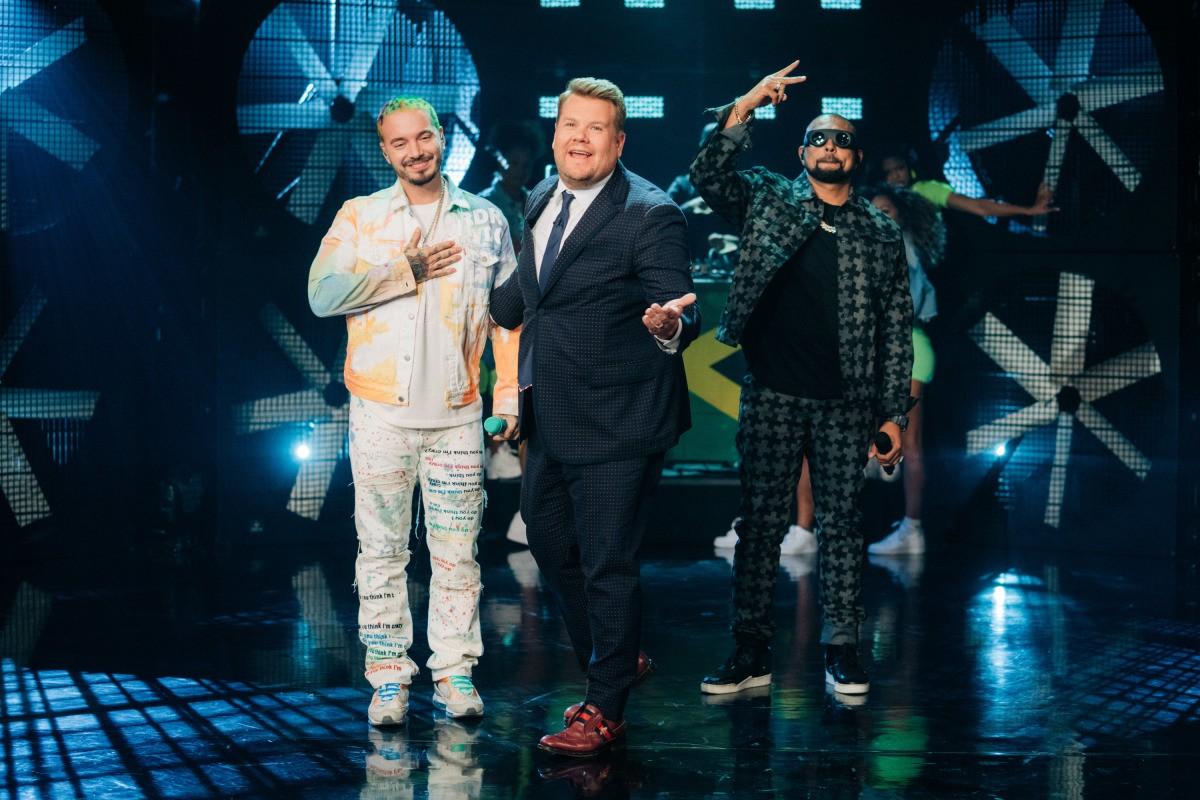 First Look: Sean Paul & J BALVIN Perform On James Corden's