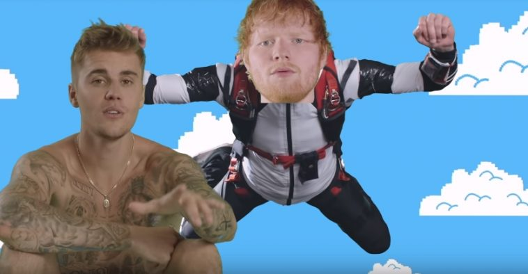 "Ed Sheeran & Justin Bieber's ""I Don't Care"" Enters Top 10"