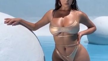 Demi Rose looks hot in Oh Polly's new swim line