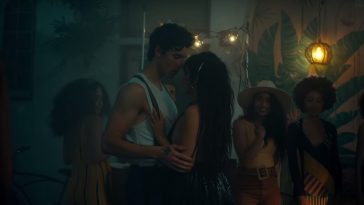 Shawn Mendes and Camila Cabello in Senorita