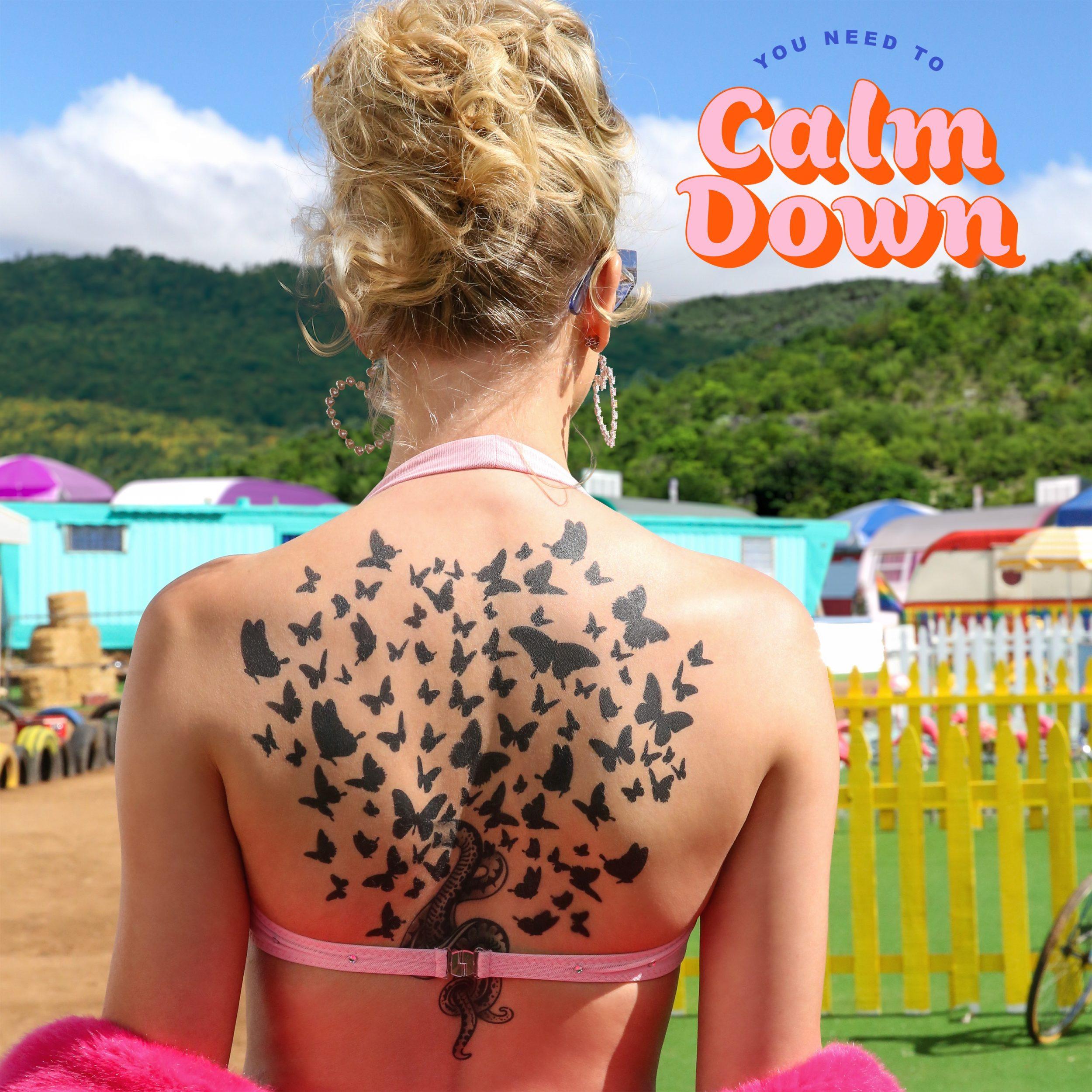 Resultado de imagem para you need to calm down cover art
