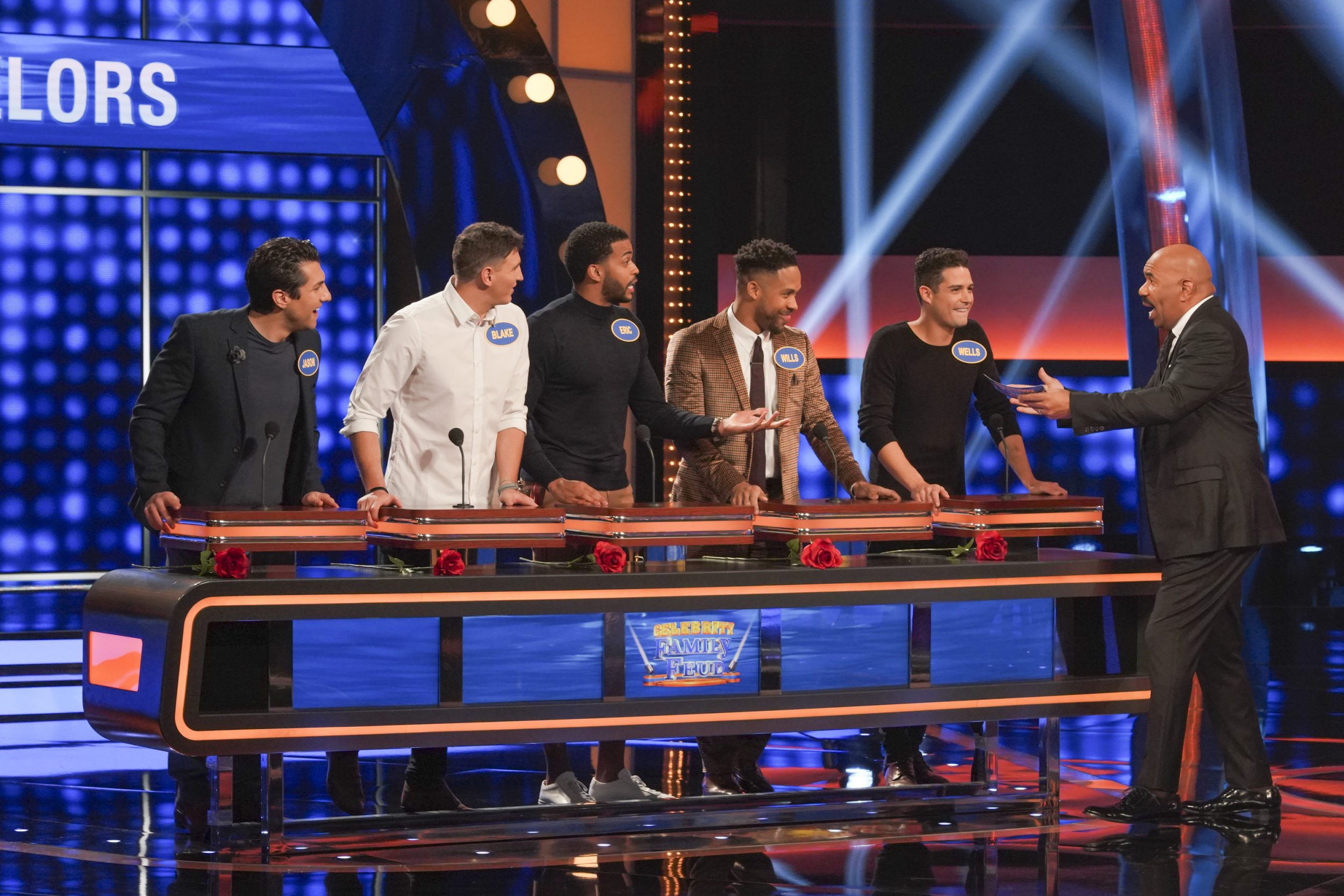 Celebrity Family Feud - *Sleuthing - Spoilers* - Discussion - Page 2 Family-Feud-Victorias-Secret-Bachelor-5