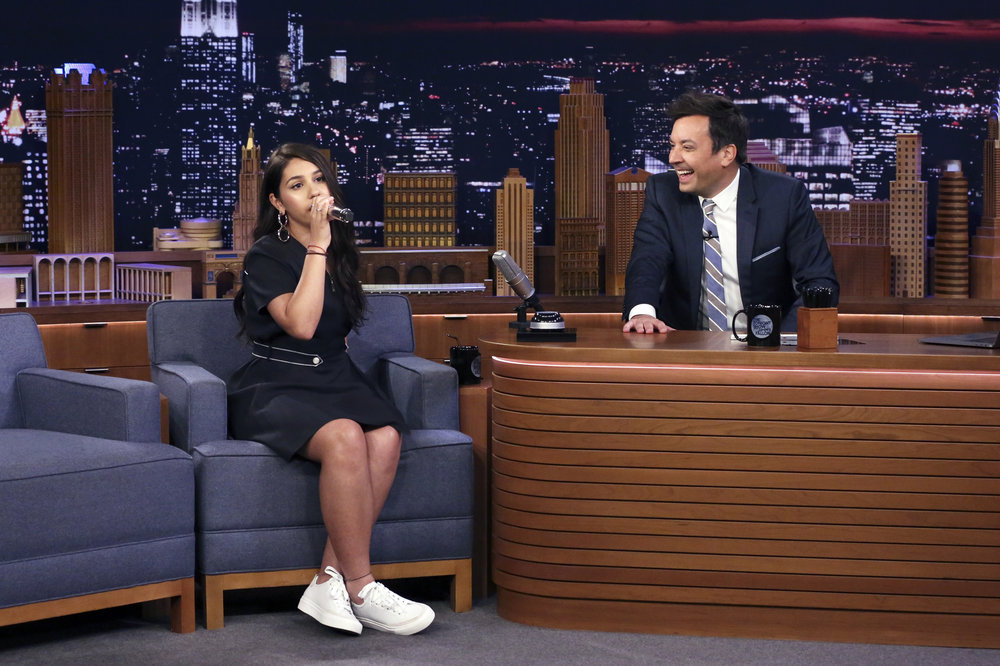 Alessia Cara Nails Her Impression of Billie Eilish on 'The Tonight Show'