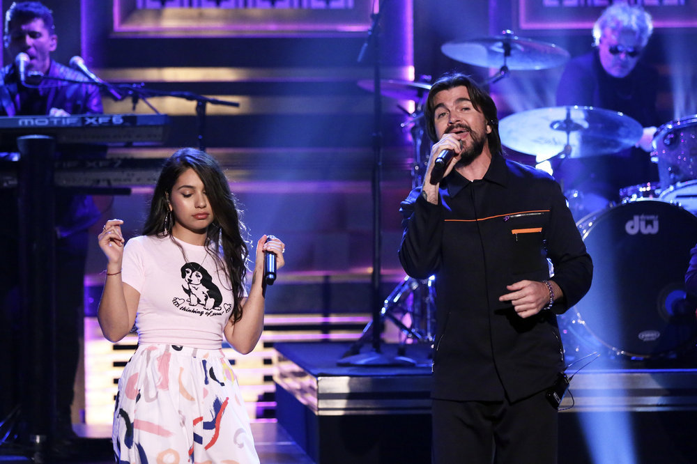 Alessia Cara Does More Impressions, Performs With Juanes On Fallon's