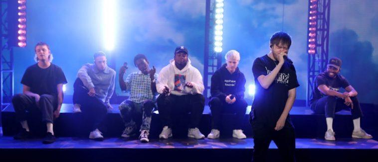 BROCKHAMPTON Takes The Stage, Performs