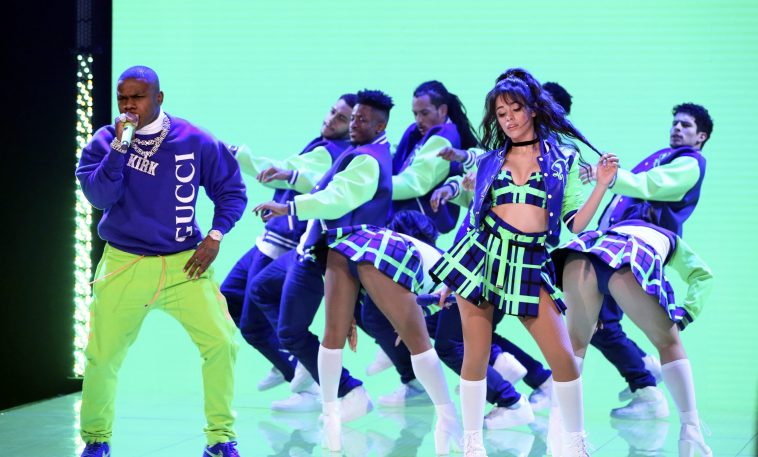 Watch Camila Cabello and DaBaby Perform