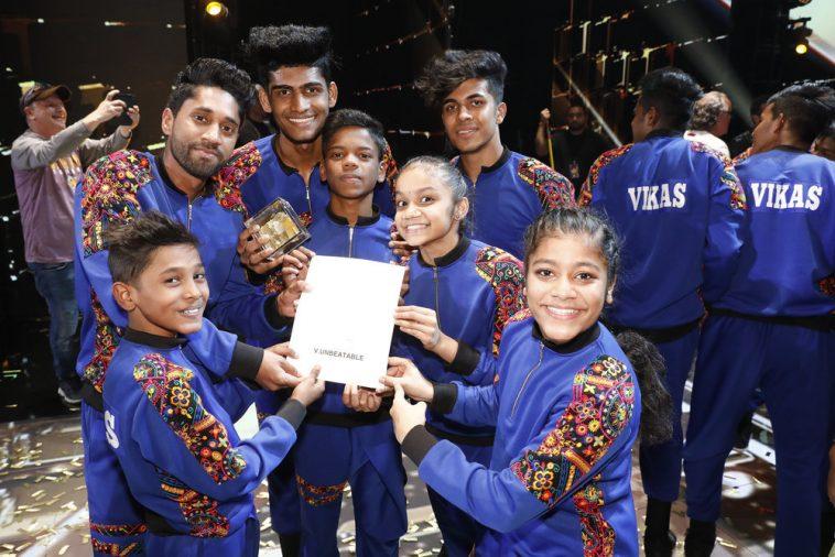 Indian Dance Crew V Unbeatable Wins America's Got Talent The Champions