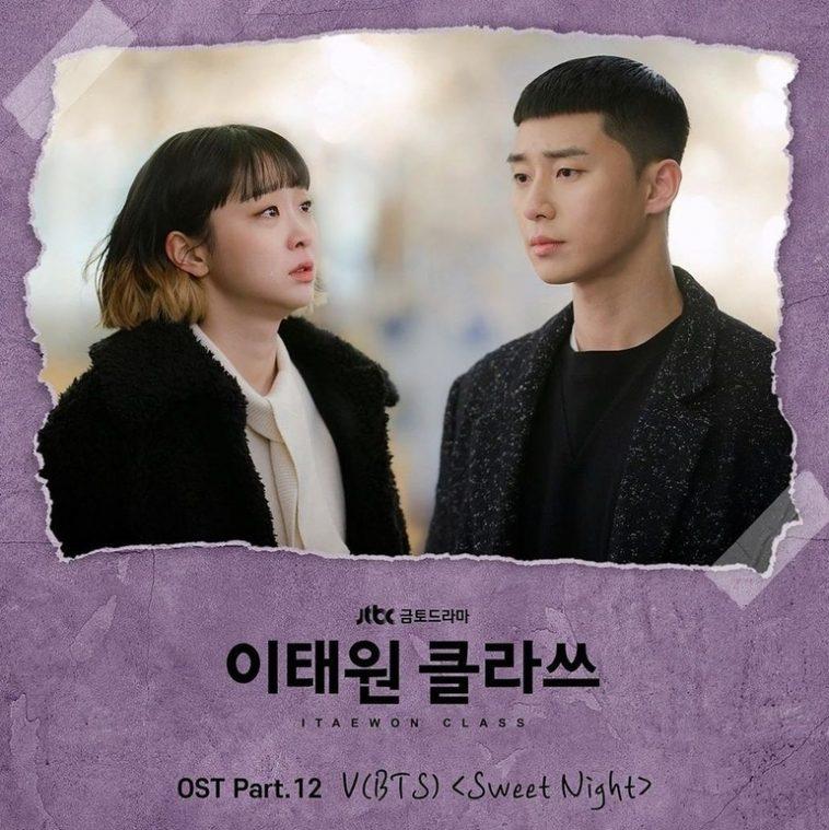 "10 Rekor ""Sweet Night"" V BTS, OST Drama Itaewon Class yang Lagi Hits Banget"