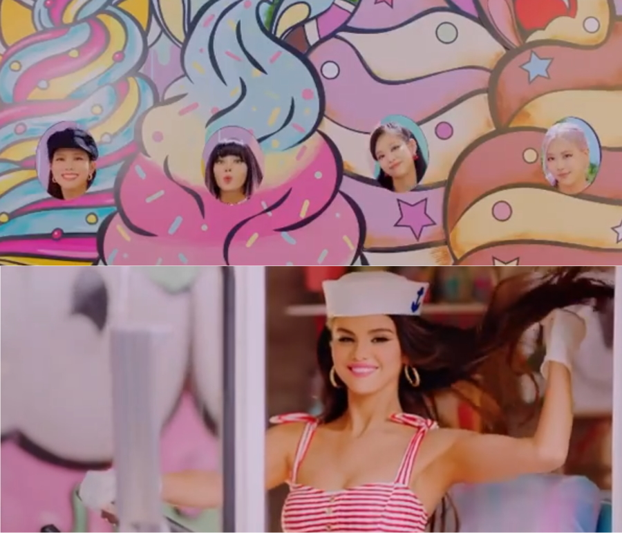 Selena Gomez Is Driving A Treat Filled Truck In Blackpink S Ice Cream Teaser Glbnews Com